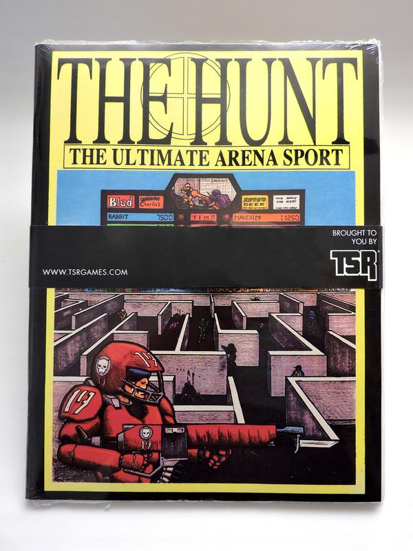 The Hunt / Overtime shrinkwrapped bundle edition