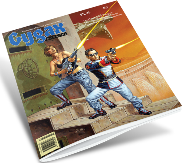 Gygax magazine #3 - shipping now