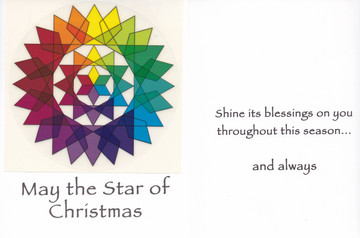 May the Star of Christmas- card