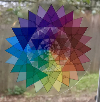 Inter-Dimensional  communication star:  Star of Acceptance