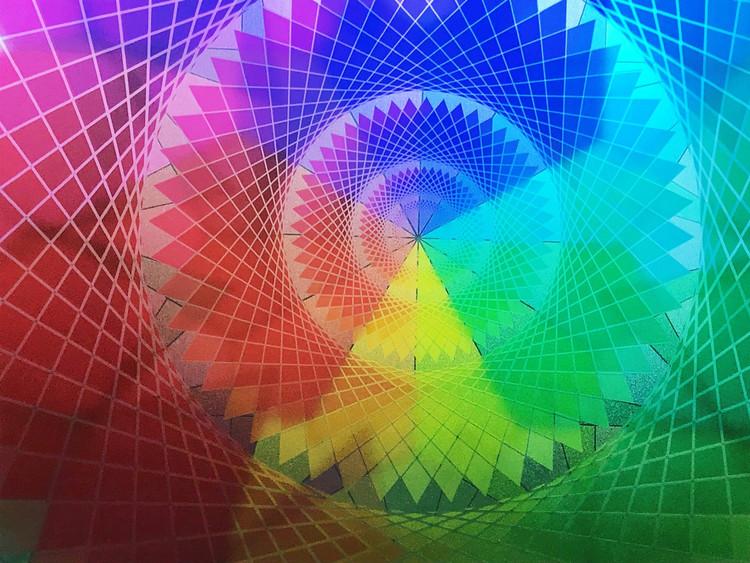 Inter-Dimensional  communication star: Faith/ Cosmic Grid Star