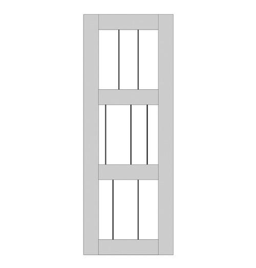 Rustic Wood Single Door (RS3010)