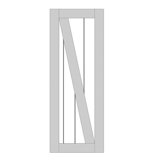 Rustic Wood Single Door (RS2070)
