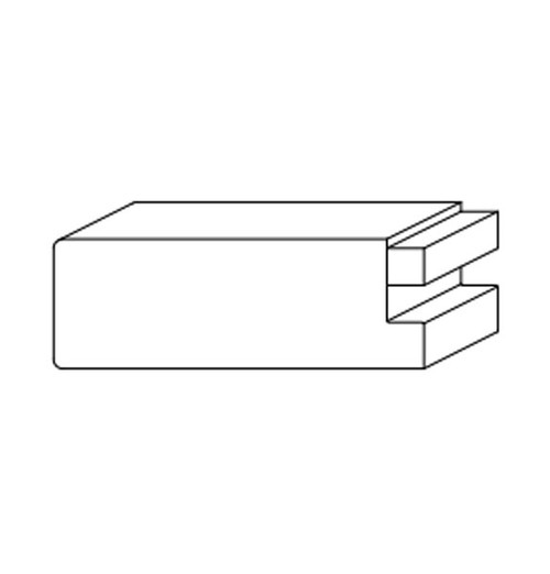 Sticking Profile - Square with Applied Stop