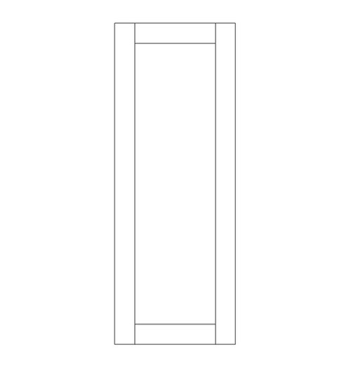 Single Rustic Wood Door (RS1000)