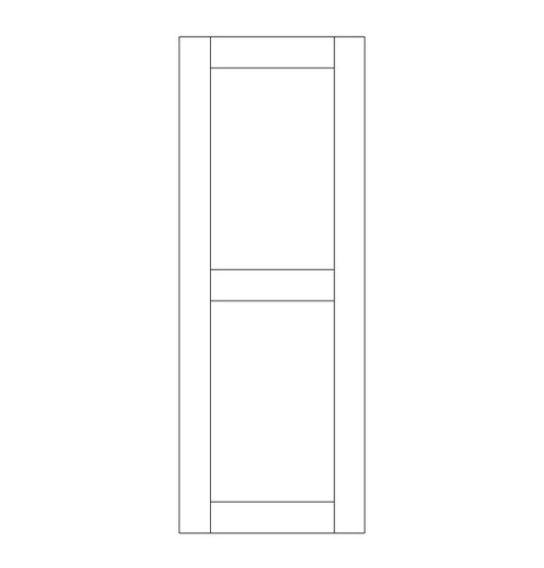 Single Rustic Wood Door (RS2000)