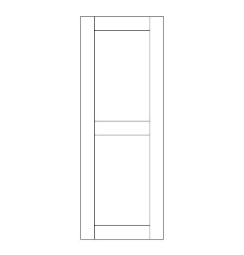 Single Rustic Wood Door (RS2000)