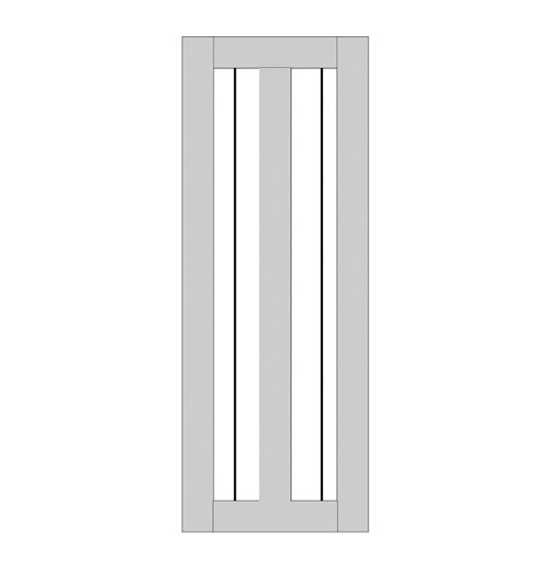 Single Rustic Wood Door (RS2010)