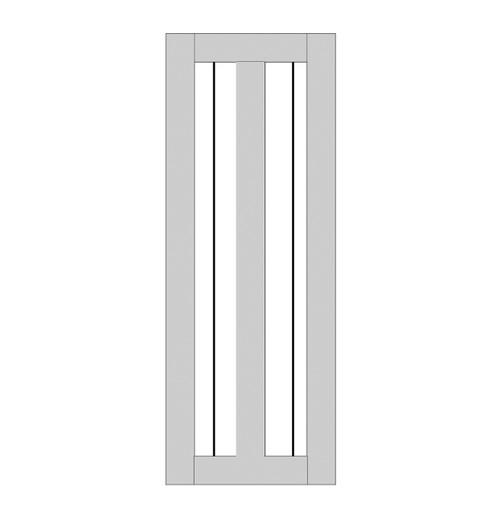 Single Rustic Wood Door (RS2010)