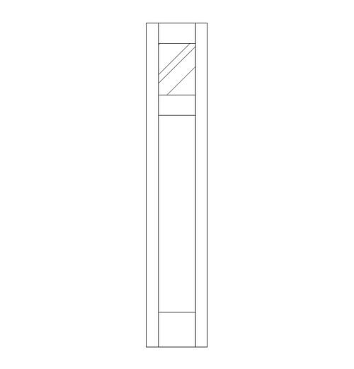 Flat Panel Wood Door (SM2000)