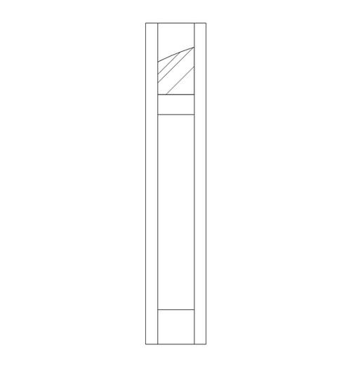 Flat Panel Wood Door (SM2100CA)