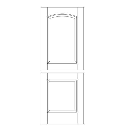 Wood Dutch Door (DD2100)