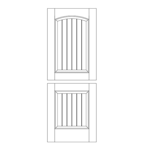 Wood Dutch Door (DD2103)