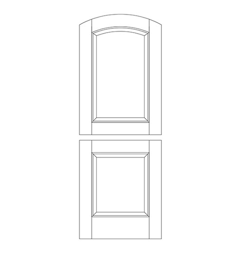 Wood Dutch Door (DD2500)