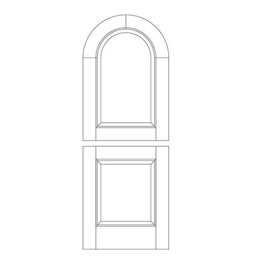Wood Dutch Door (DD2600)