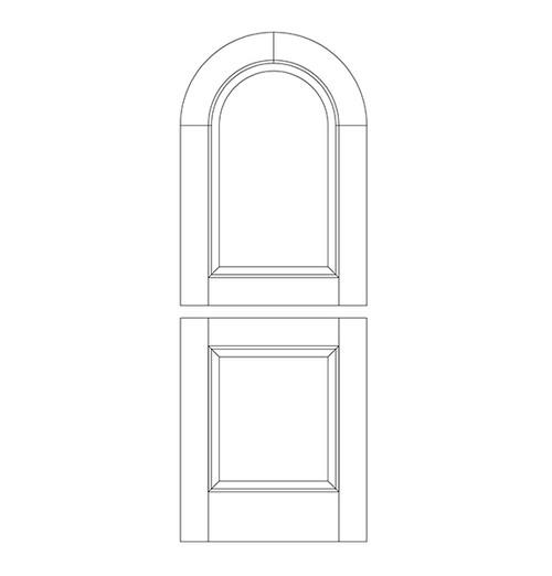 Wood Dutch Door (DD2600)