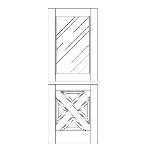 Wood Dutch Door (DD5090)