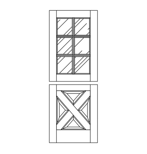 Wood Dutch Door (DD10090)