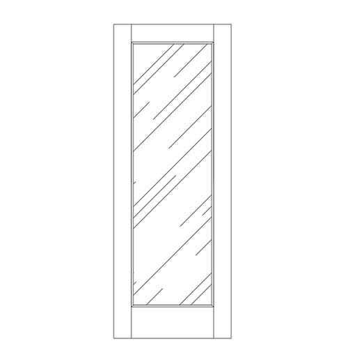 Glass Door (DG1000)