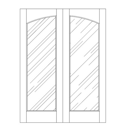 Glass Door (DG1100CA)