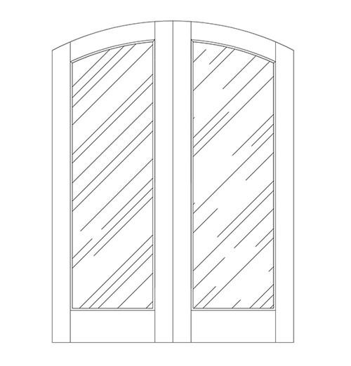 Glass Door (DG1500CA)