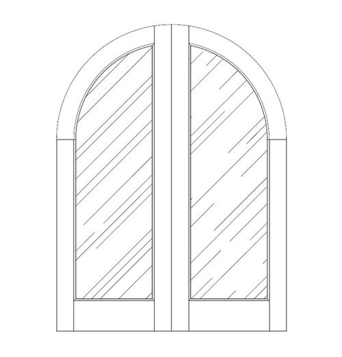 Glass Door (DG1600CA)