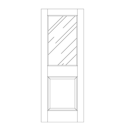 Glass Door (DG2000)