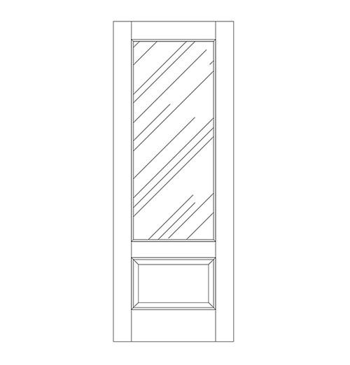 Glass Door (DG2010)