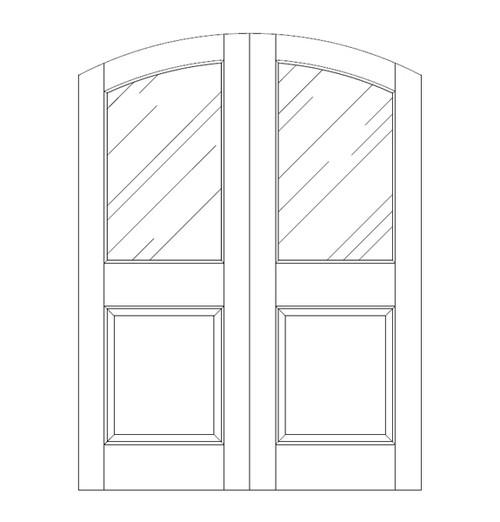 Glass Door (DG2500CA)