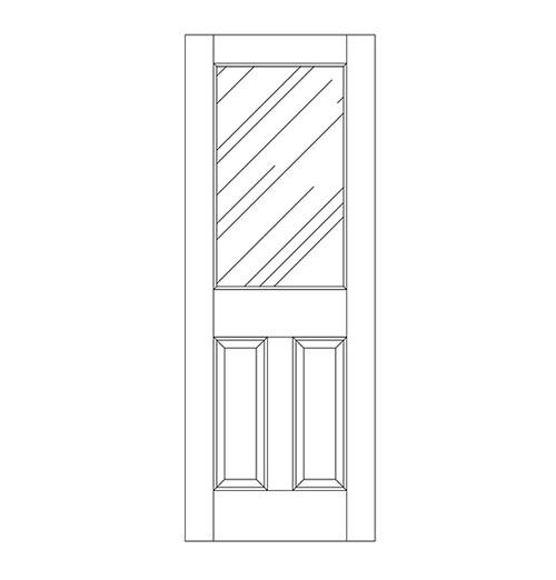 Glass Door (DG3000)