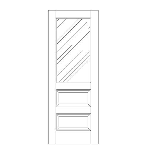 Glass Door (DG3090)