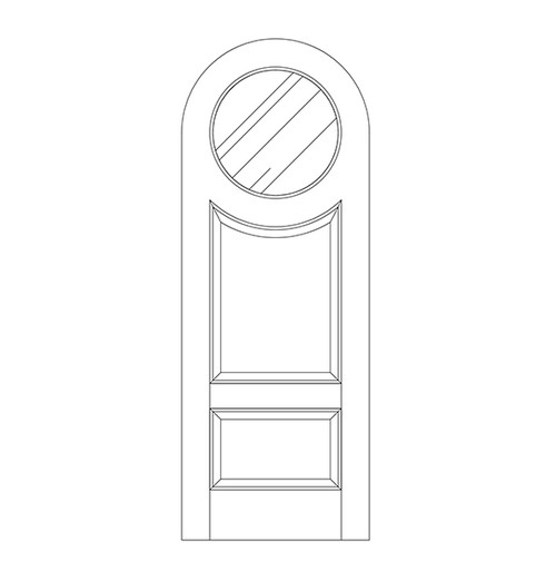Glass Door (DG3620)