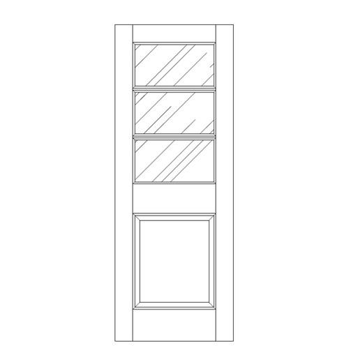 Glass Door (DG4030)
