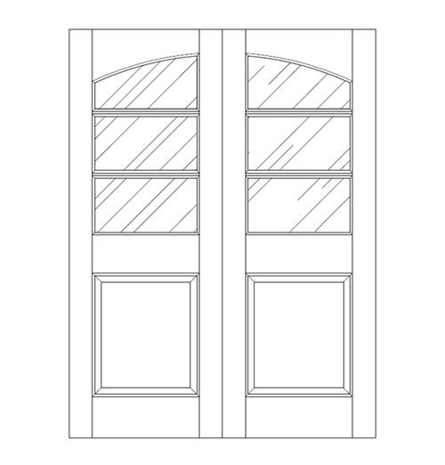 Glass Door (DG4130CA)