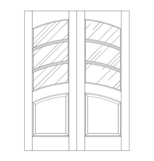 Glass Door (DG4140CA)