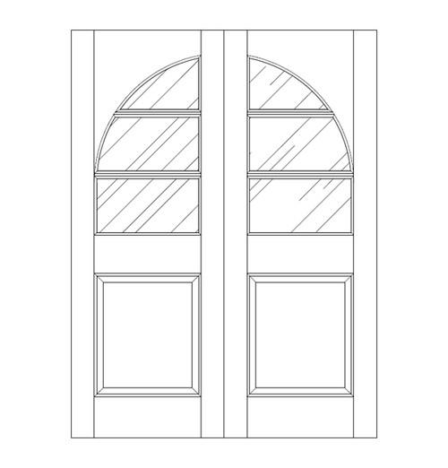 Glass Door (DG4230CA)