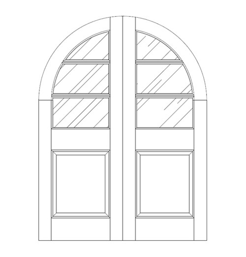 Glass Door (DG4630CA)