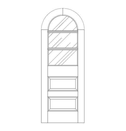 Glass Door (DG5640)
