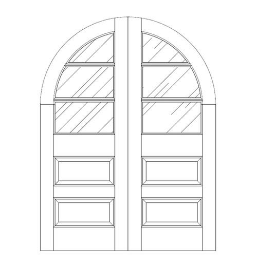 Glass Door (DG5640CA)