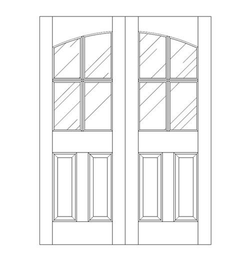 Glass Door (DG6100CA)