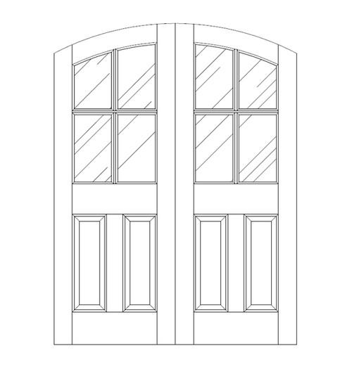 Glass Door (DG6500CA)
