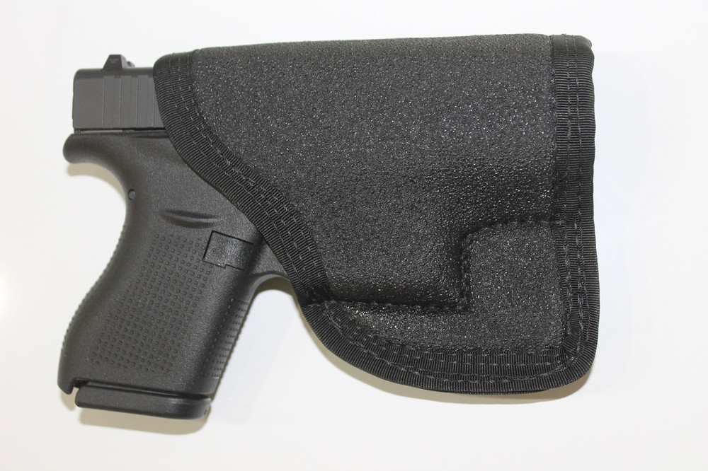 PocketPac Pro concealed carry pocket holster Glock 42 or Glock 43 9mm or .380