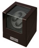 Watch Winders | Diplomat Double Watch Winder (Ebony Wood)