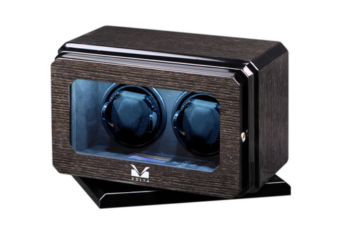 VOLTA 2 WATCH WINDER WITH ROTATING BASE (BLACK OAK)