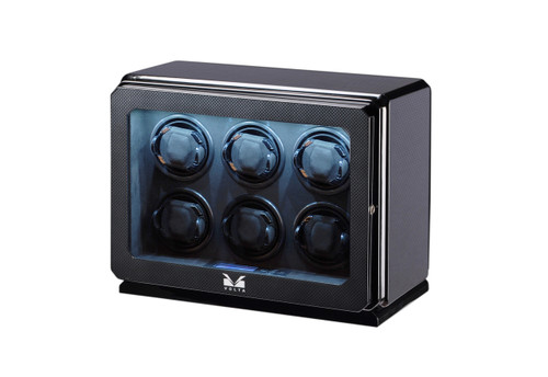 WATCH WINDER | VOLTA 6 WATCH WINDER (CARBON FIBER)