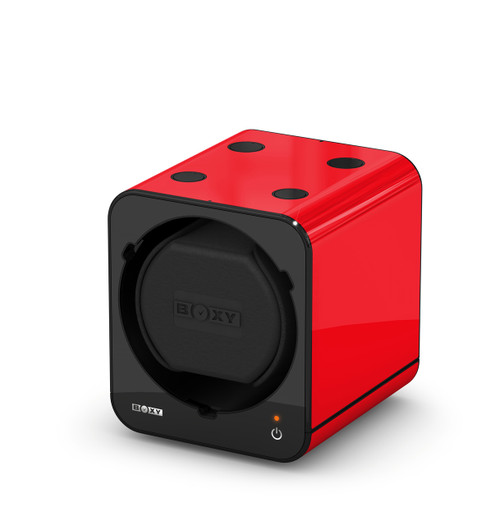 BOXY FANCY Brick Single Watch Winder  - Red (Full)