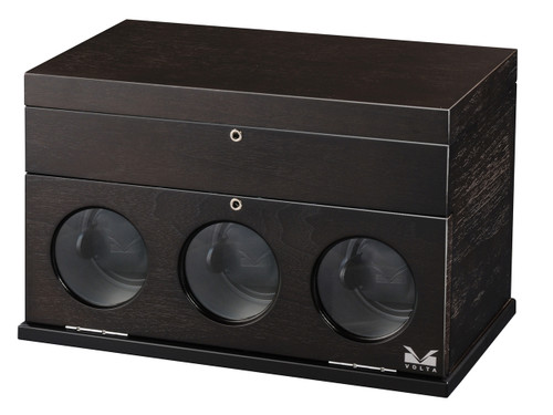 VOLTA 3 WATCH WINDER (RUSTIC BROWN)