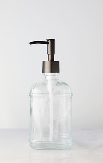 Catalina Glass Soap Dispenser