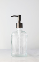 Catalina Glass Soap Dispenser