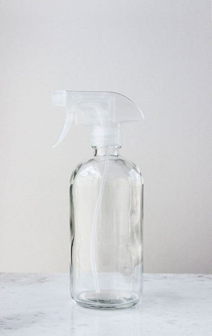 how to clean spray bottle nozzle